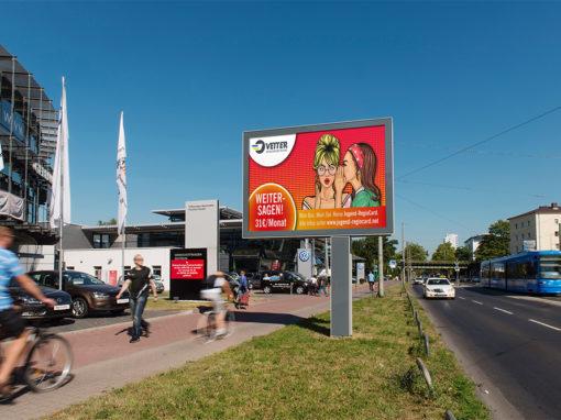 Vertriebskampagne für die Vetter Verkehrs GmbH
